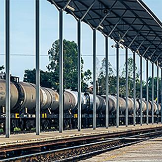 Crude Oil Rail Loading Facility
