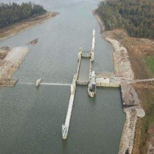 Montgomery Point Lock & Dam